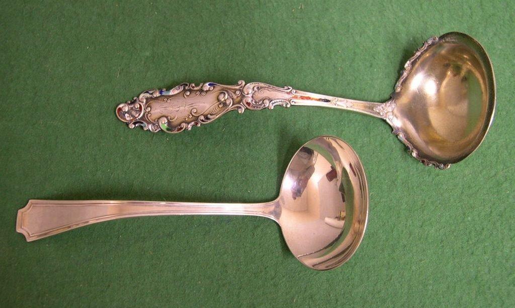 8: (2) Gorham Sterling Silver Sauce Ladles