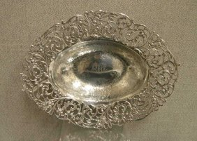 10: Gorham Sterling Silver oval bowl