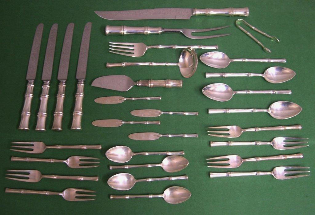 14: Tiffany & Co. sterling silver flatware service