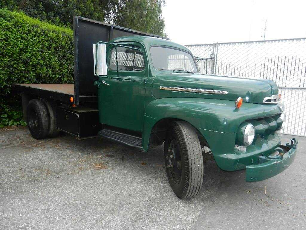 81 1951 Ford F5 Flatbed Truck 52 Pick Up