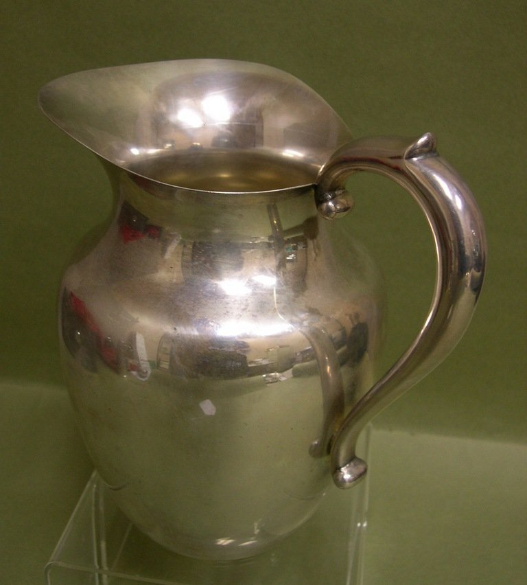 4: Watrous Sterling Silver Water Pitcher
