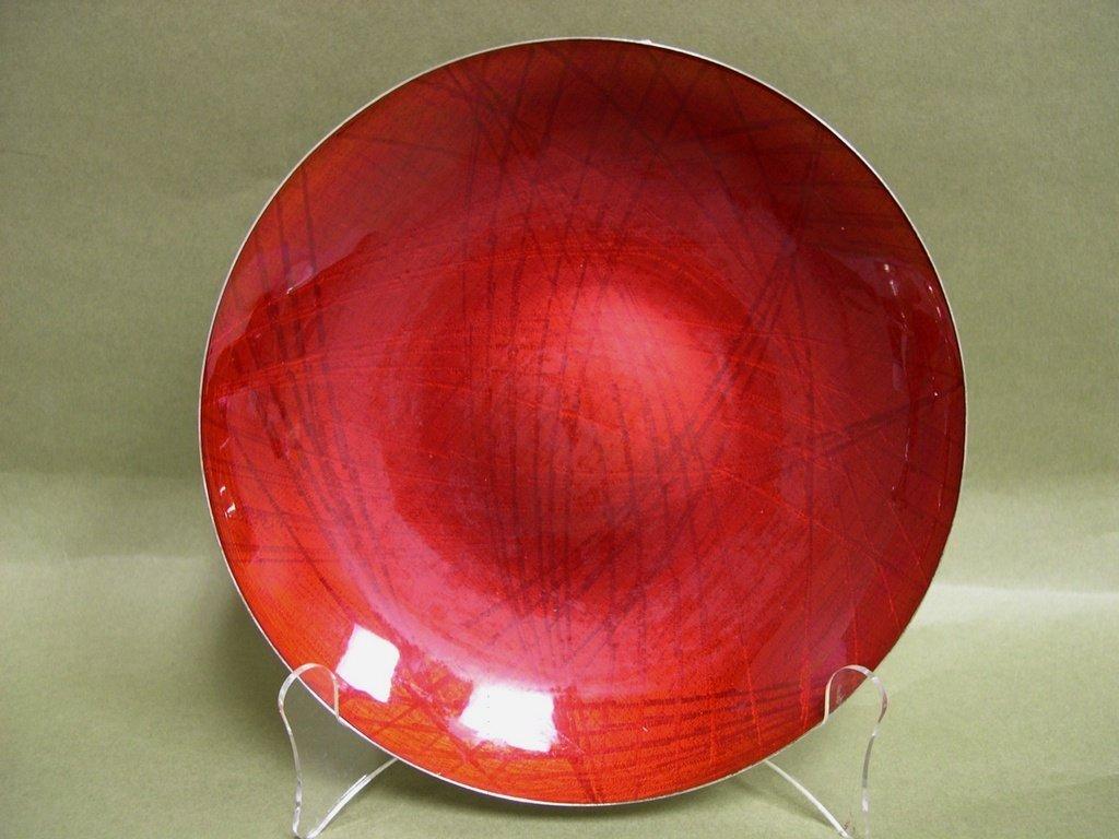 1: J.Tostrup Norway Sterling and Enamel Bowl