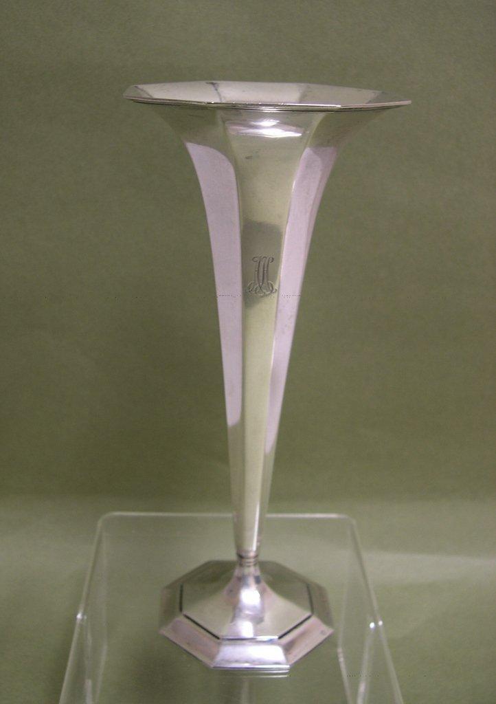 2: Tiffany & Co. Sterling Silver Trumpet Vase