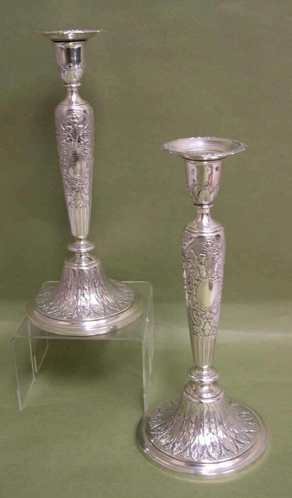 4: Pair of Gorham Sterling Silver Candlesticks #A12665