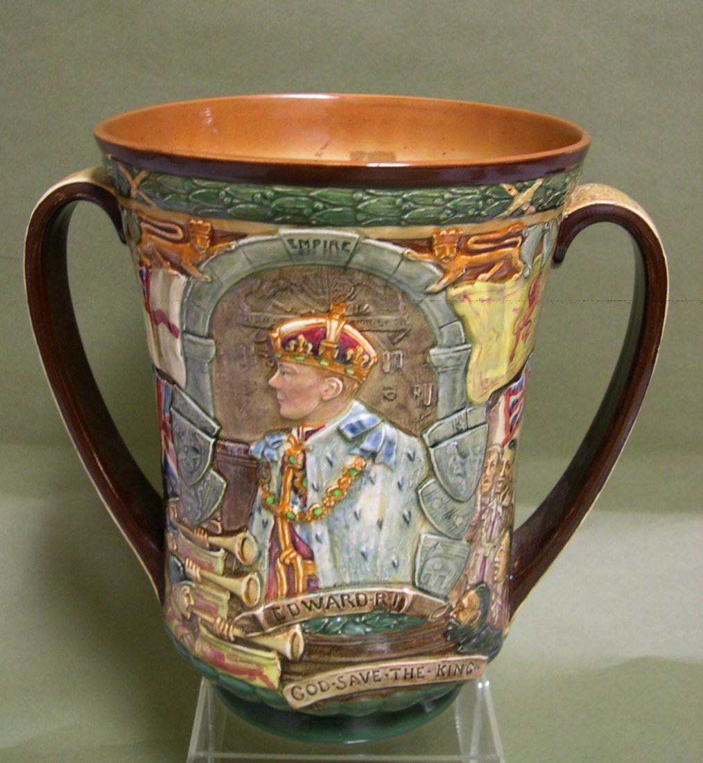 5: Royal Doulton King Edward VIII Loving Cup #1026/2000