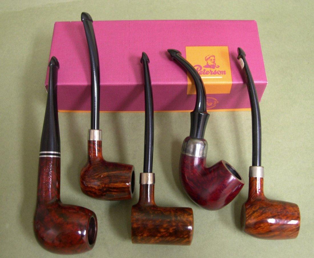 12: Six (6) Peterson's Dublin, Ireland, Smoking Pipes