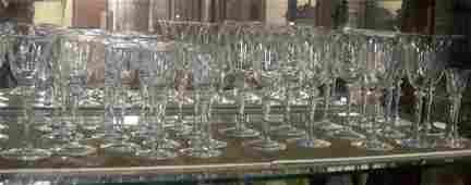 94 Steuben Crystal Stemware 6401  32 pcs