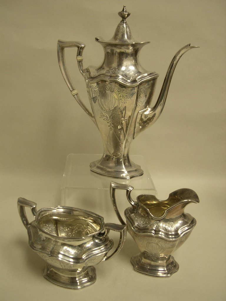Reed & Barton Hepplewhite Sterling Coffee Service