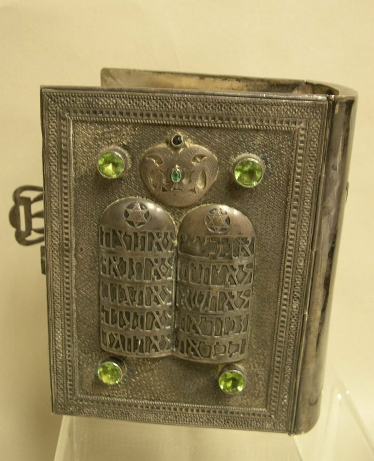 Jewish Torah with Silver cover I.M. Fain 925