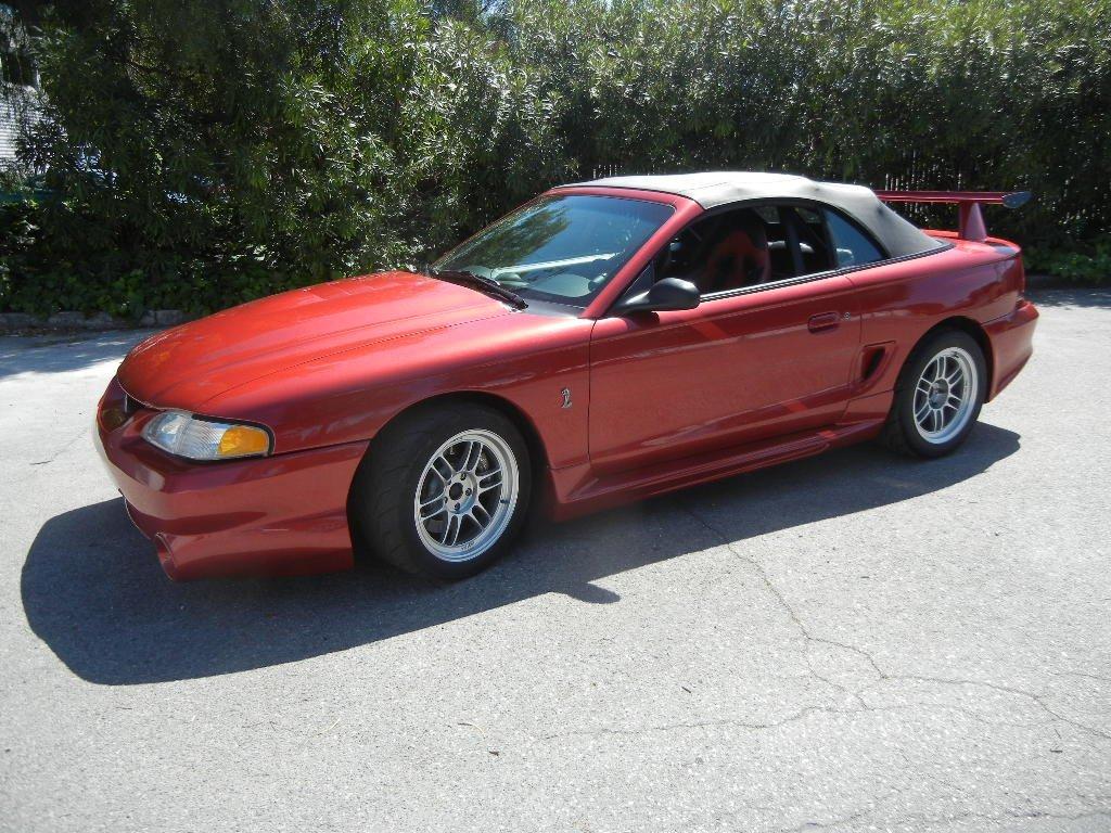 1996 Ford Mustang SVT Cobra Convertible