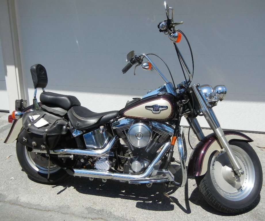 1998 Harley Davidson 95th Anniversary Fatboy Motorcycle