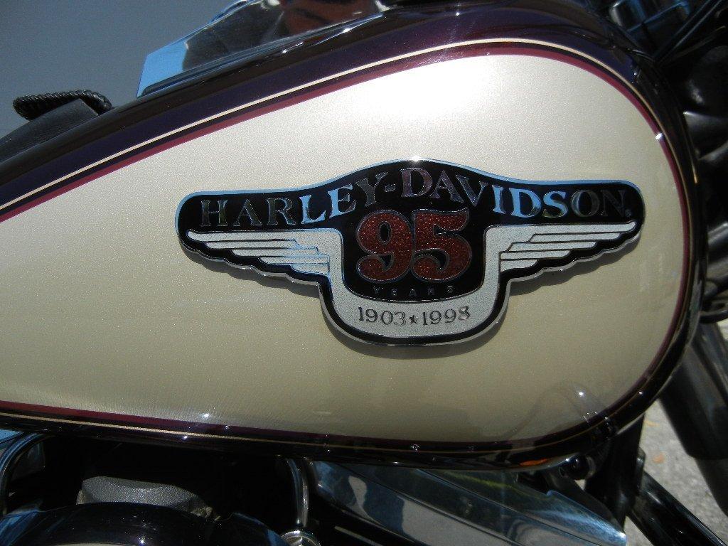 1998 Harley Davidson 95th Anniversary Fatboy Motorcycle - 3