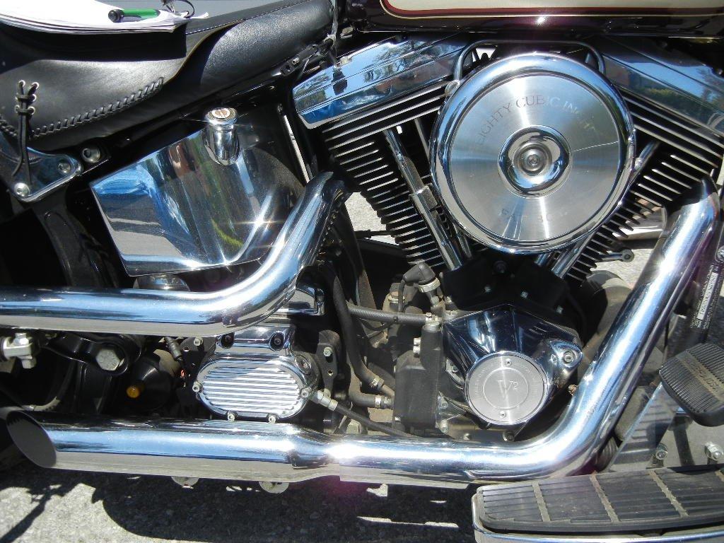 1998 Harley Davidson 95th Anniversary Fatboy Motorcycle - 4
