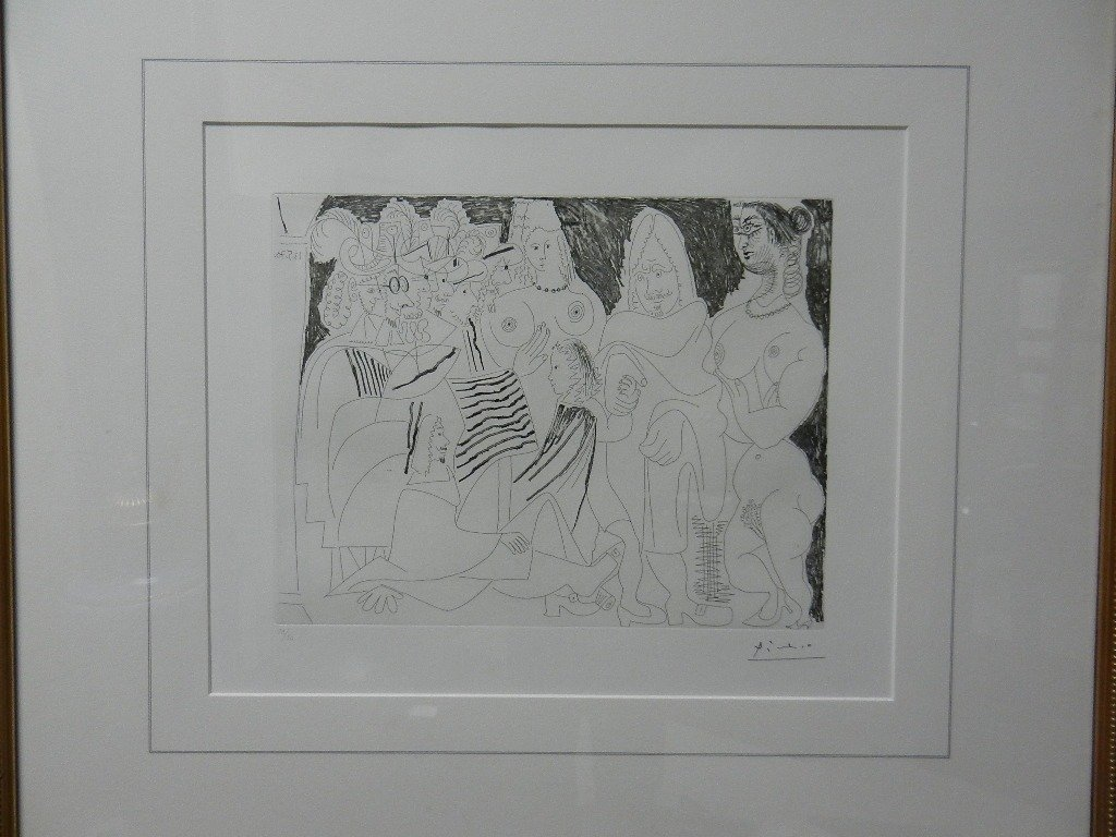 Pablo  Picasso Etching #38/50 (from 156 Series)