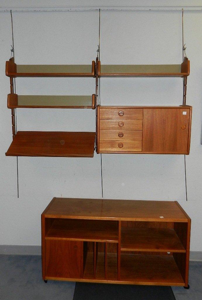 Bornholm Denmark Danish Teak Bookcase/Sideboard