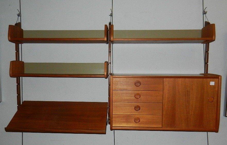 Bornholm Denmark Danish Teak Bookcase/Sideboard - 3