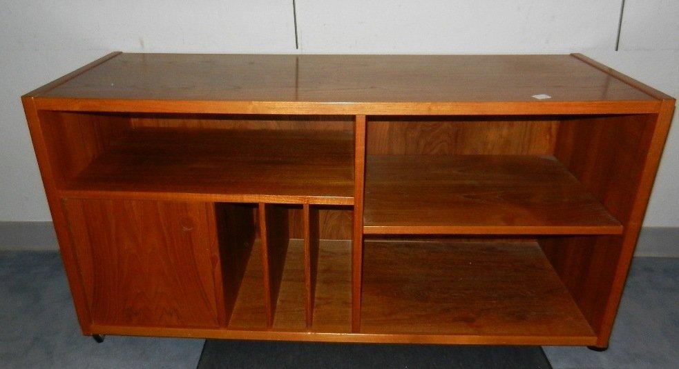 Bornholm Denmark Danish Teak Bookcase/Sideboard - 4