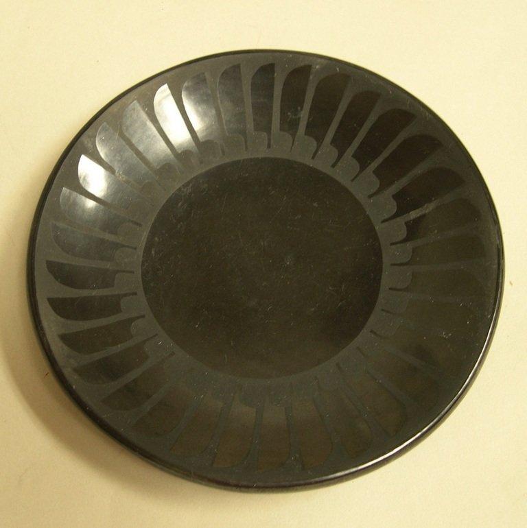 Santana & Adam Martinez Blackware Plate