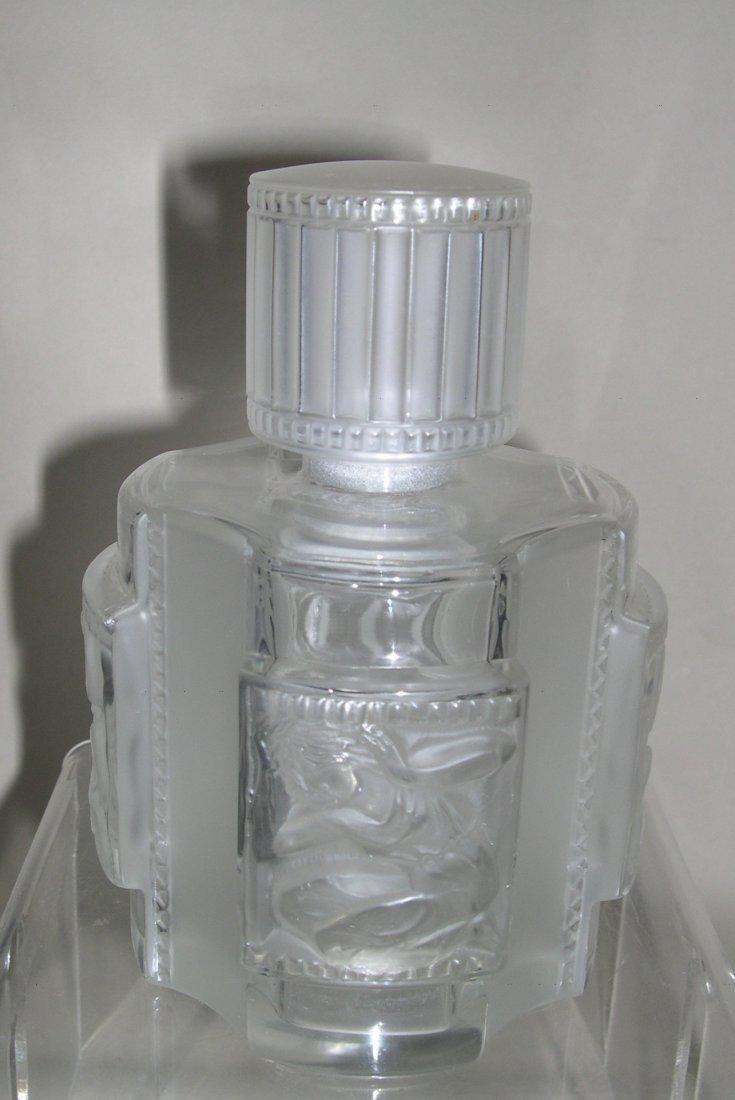 """Lalique Crystal Perfume Bottle, Flacon No.2 """"Helene"""""""