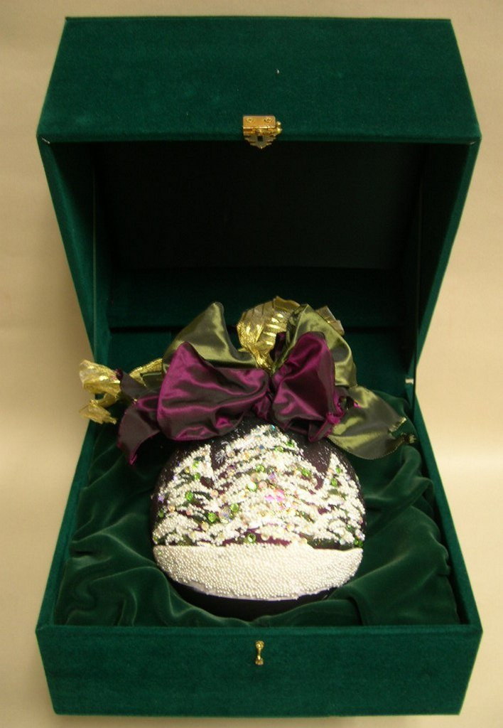 Natalie Sarabella Custom Christmas Ornament HolidayTree