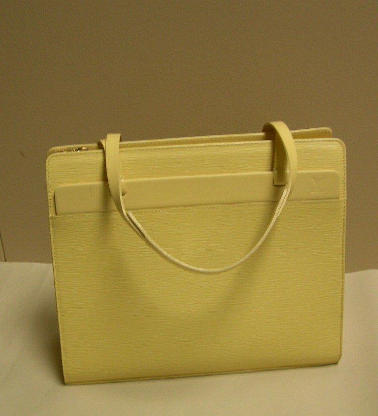Louis Vuitton Croisette GM Vanilla Epi Leather Handbag