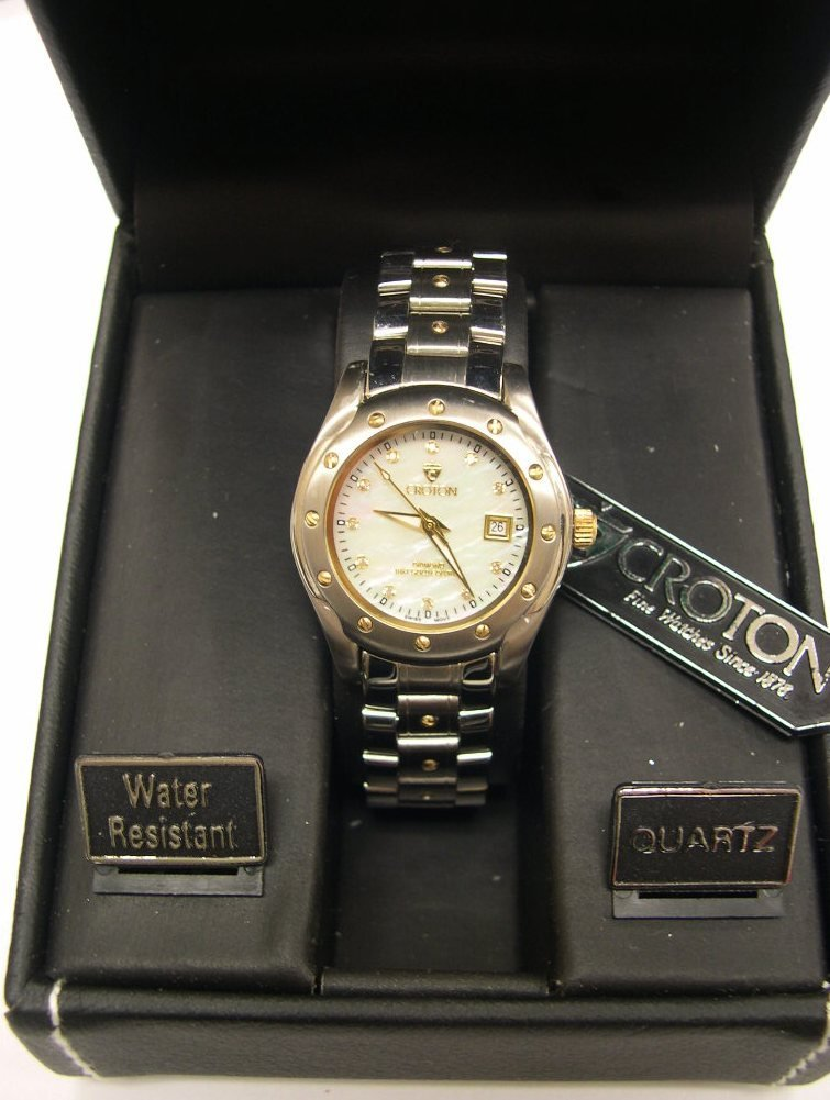Ladies Croton Watch Limited Edition Swiss 14 Jewel