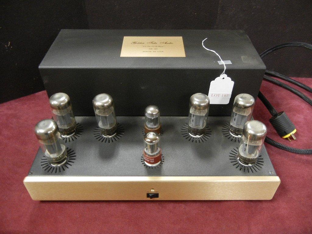 Golden Tube Audio SE-40 Stereo Power Amplifier