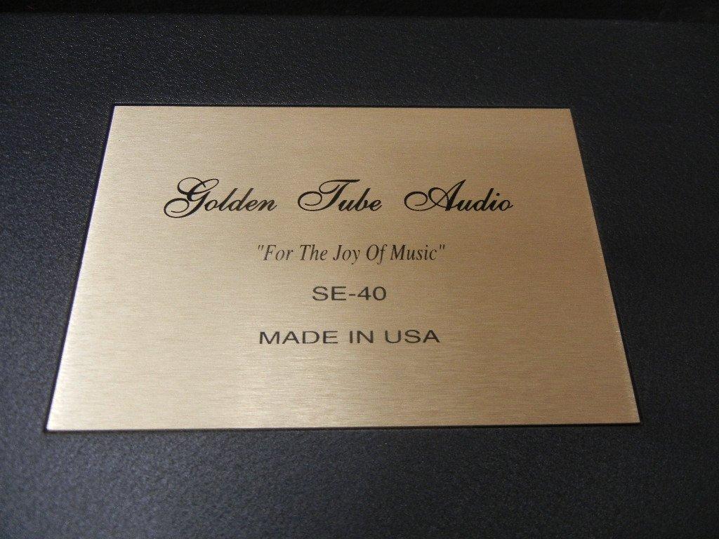Golden Tube Audio SE-40 Stereo Power Amplifier - 2