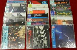(21) Japanese Pressing Import LPs all with Obi