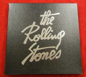 Three (3) Rolling Stones boxed LP sets