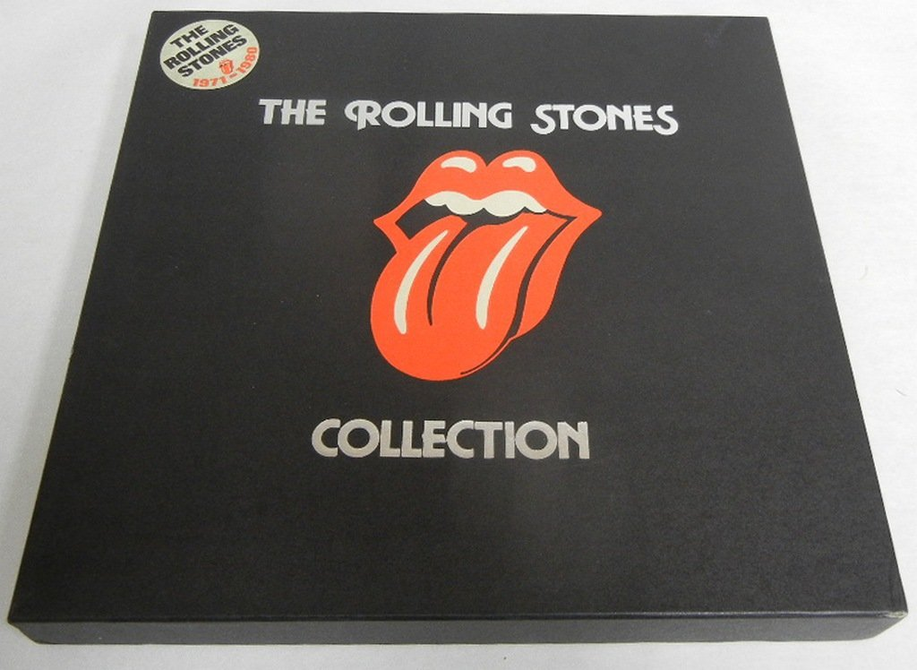 Two (2) Rolling Stones LP boxed sets