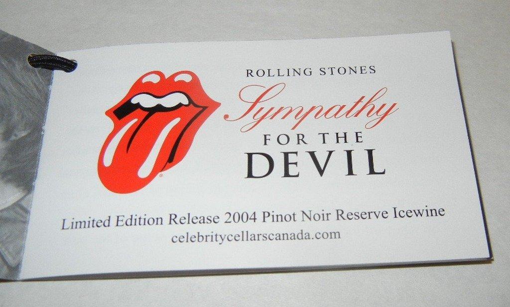 Four (4) bottles Rolling Stones Ice Wine - 6