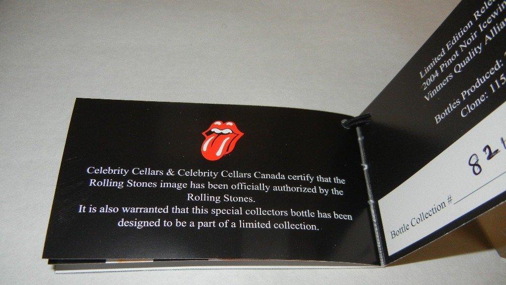 Four (4) bottles Rolling Stones Ice Wine - 7