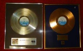 Huey Lewis Gold & Platinum records