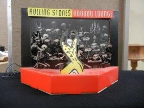 (3) Rolling Stones Store Advertising Displays