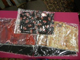 (5) Rolling Stones Dragonfly Shirts