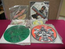22 Picture Disc Limited Edition Records