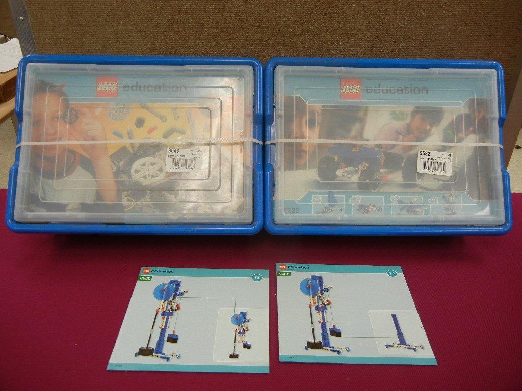 (2) Lego Education Sets; #9632 & 9648