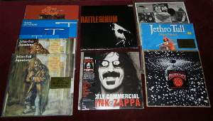 Nine (9) Rock and Roll Albums, mostly sealed