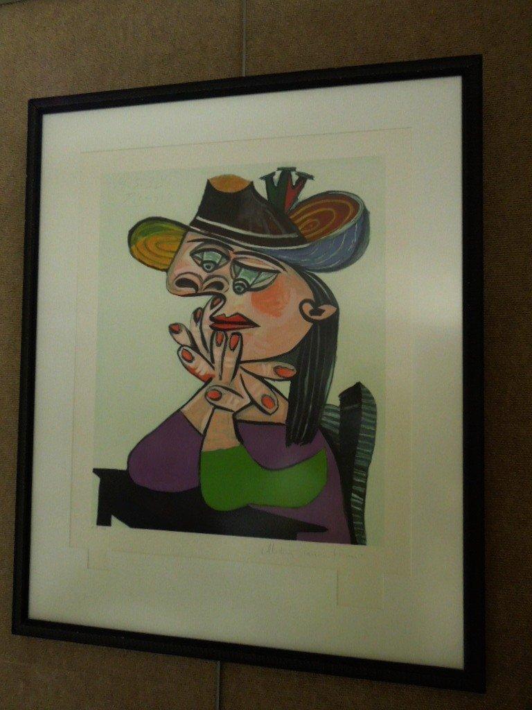 Pablo Picasso Ltd. Edition Print.  Pablo Picasso
