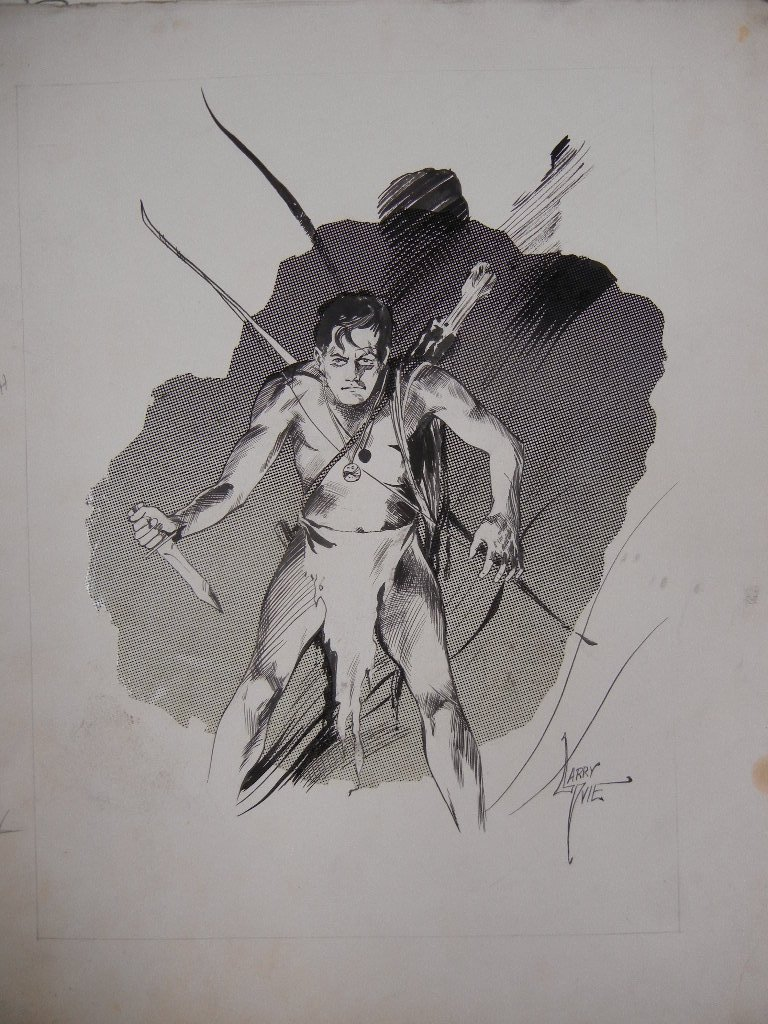 Collection of Original comic book art, including Hal - 2