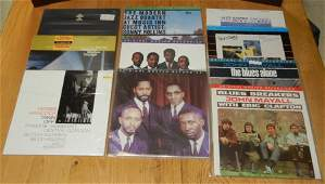 Collection of ten 10 Jazz and Blues LP records many