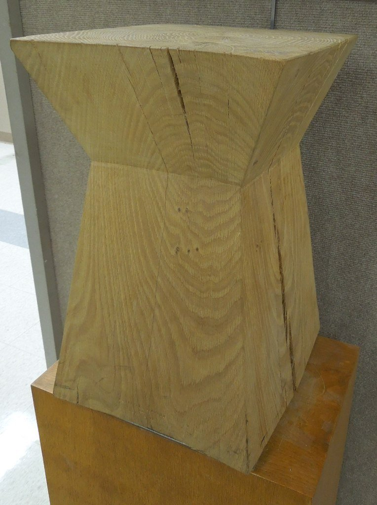 """Christian Liaigre French oak """"Nagato"""" Table by"""