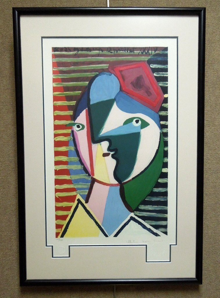 Pablo Picasso Limited Edition Lithograph
