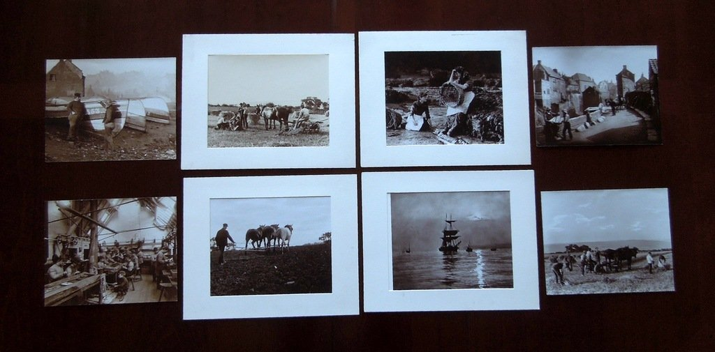 8 Frank Meadow Sutcliffe photographic prints