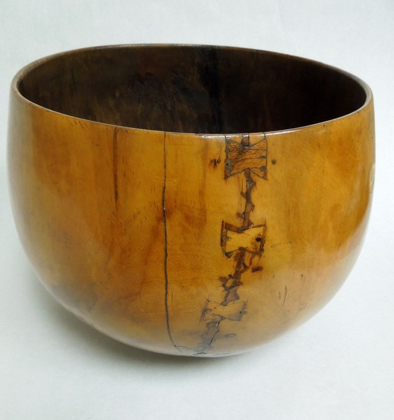 Hawaiian Koa Wood Poi Bowl
