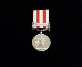 British Military medal-India Mutiny 1857-58