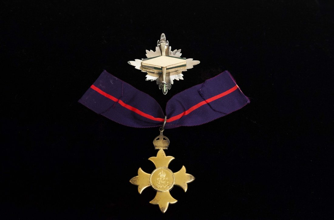 Order of the British Empire medal - 2