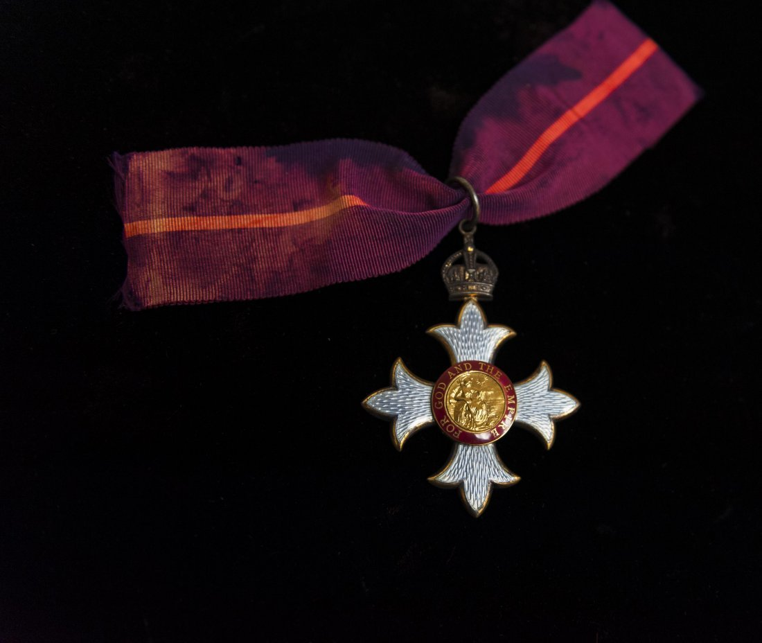 Order of the British Empire medal - 5