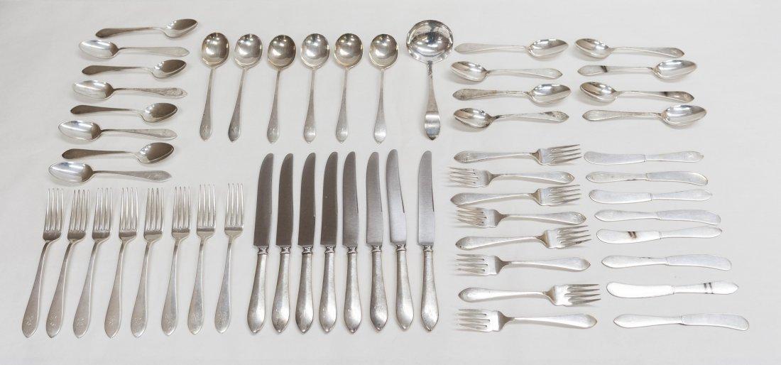 Rogers, Lunt & Bowlen Sterling Silver Flatware.